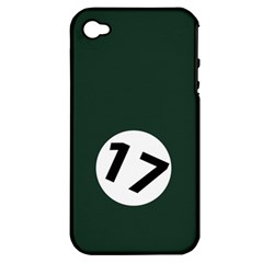 British Racing Green Apple Iphone 4/4s Hardshell Case (pc+silicone) by PocketRacers