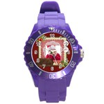 MERRY CHRISTMAS - Round Plastic Sport Watch Large
