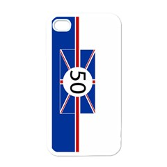 Uk White Apple Iphone 4 Case by PocketRacers
