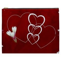 Love Cosmetic Bag (xxxl) By Elena Petrova   Cosmetic Bag (xxxl)   Wkurtv1vp0bw   Www Artscow Com Front