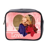 love - Mini Toiletries Bag (Two Sides)