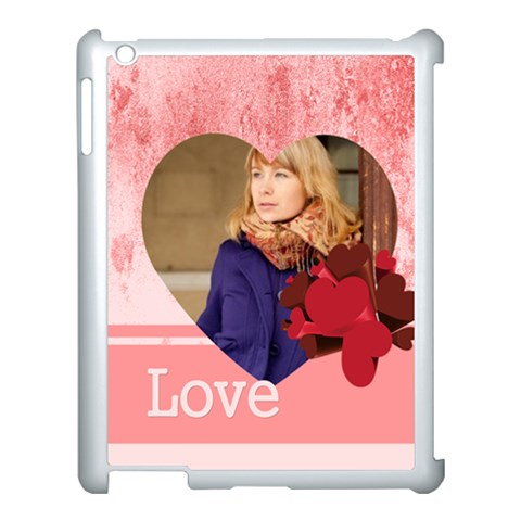 Love By Anita   Apple Ipad 3/4 Case (white)   Exdgqsj2uymm   Www Artscow Com Front