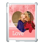 love - Apple iPad 3/4 Case (White)