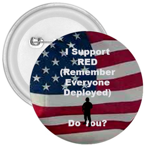 Remember Red By Amazing Moi   3  Button   Q6kgez91q6n4   Www Artscow Com Front