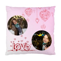 Love By Ki Ki   Standard Cushion Case (two Sides)   V0u9ag1fr3xm   Www Artscow Com Front
