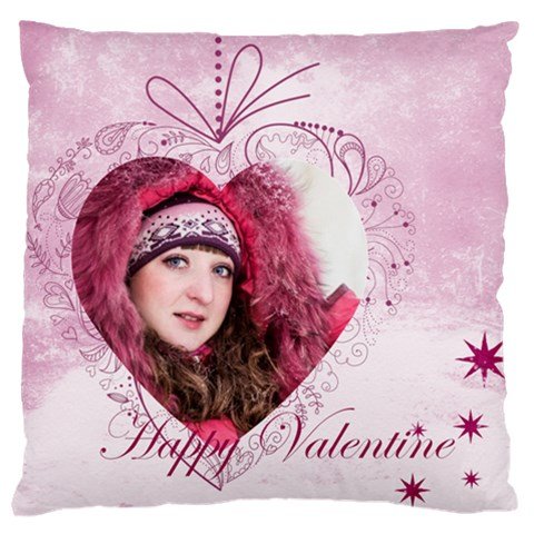 Love By Ki Ki   Large Cushion Case (one Side)   7ezcf79l0cpl   Www Artscow Com Front