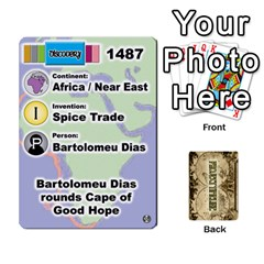 Project Timeline 1 By Steve Cates   Playing Cards 54 Designs   0592d0pl4u96   Www Artscow Com Front - Spade4