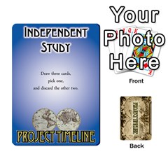 Ace Project Timeline 2 By Steve Cates   Playing Cards 54 Designs   Rvpjj7qu8pdc   Www Artscow Com Front - SpadeA