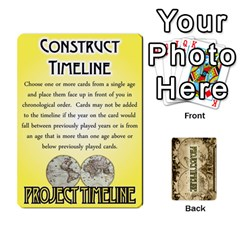 Project Timeline 2 By Steve Cates   Playing Cards 54 Designs   Rvpjj7qu8pdc   Www Artscow Com Front - Heart8