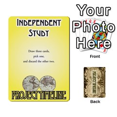 Project Timeline 2 By Steve Cates   Playing Cards 54 Designs   Rvpjj7qu8pdc   Www Artscow Com Front - Spade10