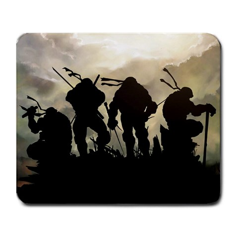 Tmnt By Bill Asif   Large Mousepad   42x5oozgnmbr   Www Artscow Com Front