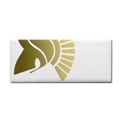 White Gym Towel Hand Towel by spartans