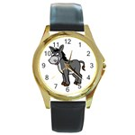 Rascal Round Gold Metal Watch