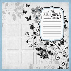Captivating Pages By One Of A Kind Design Studio   Scrapbook Page 12  X 12    Crsh0xdre84n   Www Artscow Com 12 x12 Scrapbook Page - 4
