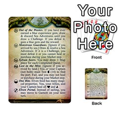 Cities Of Adventure: Reference Cards By J C  Hendee   Multi Purpose Cards (rectangle)   Adbx4mmugk24   Www Artscow Com Front 13