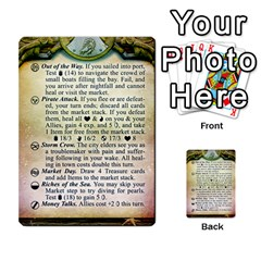 Cities Of Adventure: Reference Cards By J C  Hendee   Multi Purpose Cards (rectangle)   Adbx4mmugk24   Www Artscow Com Front 15