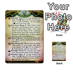 Cities Of Adventure: Reference Cards By J C  Hendee   Multi Purpose Cards (rectangle)   Adbx4mmugk24   Www Artscow Com Front 16