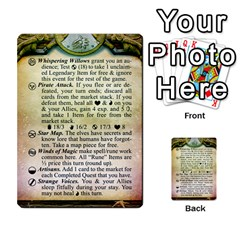 Cities Of Adventure: Reference Cards By J C  Hendee   Multi Purpose Cards (rectangle)   Adbx4mmugk24   Www Artscow Com Front 18
