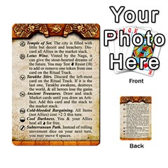 Cities Of Adventure: Reference Cards By J C  Hendee   Multi Purpose Cards (rectangle)   Adbx4mmugk24   Www Artscow Com Front 22