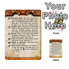 Cities Of Adventure: Reference Cards By J C  Hendee   Multi Purpose Cards (rectangle)   Adbx4mmugk24   Www Artscow Com Front 23