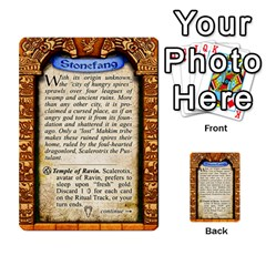Cities Of Adventure: Reference Cards By J C  Hendee   Multi Purpose Cards (rectangle)   Adbx4mmugk24   Www Artscow Com Back 24