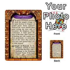 Cities Of Adventure: Reference Cards By J C  Hendee   Multi Purpose Cards (rectangle)   Adbx4mmugk24   Www Artscow Com Back 25