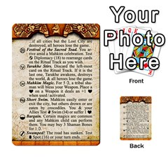 Cities Of Adventure: Reference Cards By J C  Hendee   Multi Purpose Cards (rectangle)   Adbx4mmugk24   Www Artscow Com Front 26