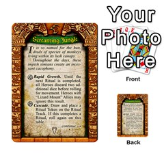 Cities Of Adventure: Reference Cards By J C  Hendee   Multi Purpose Cards (rectangle)   Adbx4mmugk24   Www Artscow Com Back 30