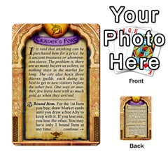 Cities Of Adventure: Reference Cards By J C  Hendee   Multi Purpose Cards (rectangle)   Adbx4mmugk24   Www Artscow Com Back 33