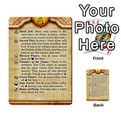 Cities Of Adventure: Reference Cards By J C  Hendee   Multi Purpose Cards (rectangle)   Adbx4mmugk24   Www Artscow Com Front 34