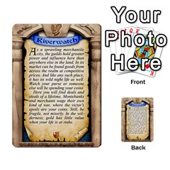 Cities Of Adventure: Reference Cards By J C  Hendee   Multi Purpose Cards (rectangle)   Adbx4mmugk24   Www Artscow Com Back 4