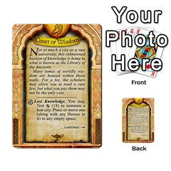 Cities Of Adventure: Reference Cards By J C  Hendee   Multi Purpose Cards (rectangle)   Adbx4mmugk24   Www Artscow Com Back 37