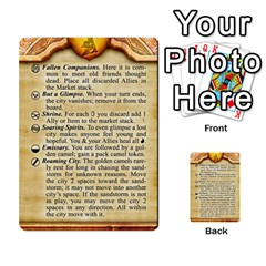 Cities Of Adventure: Reference Cards By J C  Hendee   Multi Purpose Cards (rectangle)   Adbx4mmugk24   Www Artscow Com Front 38