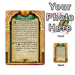 Cities Of Adventure: Reference Cards By J C  Hendee   Multi Purpose Cards (rectangle)   Adbx4mmugk24   Www Artscow Com Back 38