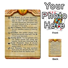 Cities Of Adventure: Reference Cards By J C  Hendee   Multi Purpose Cards (rectangle)   Adbx4mmugk24   Www Artscow Com Front 39