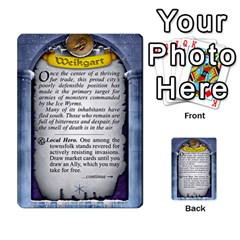Cities Of Adventure: Reference Cards By J C  Hendee   Multi Purpose Cards (rectangle)   Adbx4mmugk24   Www Artscow Com Back 42