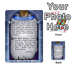 Cities Of Adventure: Reference Cards By J C  Hendee   Multi Purpose Cards (rectangle)   Adbx4mmugk24   Www Artscow Com Back 44