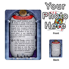 Cities Of Adventure: Reference Cards By J C  Hendee   Multi Purpose Cards (rectangle)   Adbx4mmugk24   Www Artscow Com Back 46
