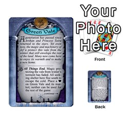 Cities Of Adventure: Reference Cards By J C  Hendee   Multi Purpose Cards (rectangle)   Adbx4mmugk24   Www Artscow Com Back 49