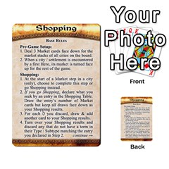 Cities Of Adventure: Reference Cards By J C  Hendee   Multi Purpose Cards (rectangle)   Adbx4mmugk24   Www Artscow Com Back 50