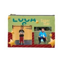 Lucas2 By Pilar   Cosmetic Bag (large)   Gma0y3th5j96   Www Artscow Com Front