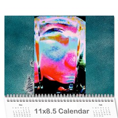 Cally By Christine Carter   Wall Calendar 11  X 8 5  (12 Months)   X4qcxma2s3x3   Www Artscow Com Cover