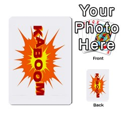 Blazing Dice Shared  1 By Dave Docherty   Multi Purpose Cards (rectangle)   Q4bf63028ym9   Www Artscow Com Back 7