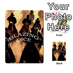 Blazing Dice Shared  1 By Dave Docherty   Multi Purpose Cards (rectangle)   Q4bf63028ym9   Www Artscow Com Front 50