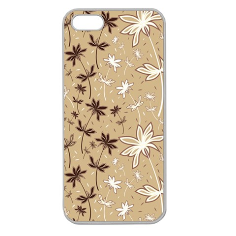 Pattern By Divad Brown   Apple Seamless Iphone 5 Case (clear)   1gipyakh7y6i   Www Artscow Com Front