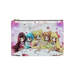 Moon Bag2 By Kevin Chen   Cosmetic Bag (medium)   Bohaqi5ri3dw   Www Artscow Com Front