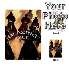 Blazing Dice   2 Shared By Dave Docherty   Multi Purpose Cards (rectangle)   Brohddpckszh   Www Artscow Com Front 3