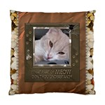 Meow Cushion Case (1 Sided) - Cushion Case (One Side)