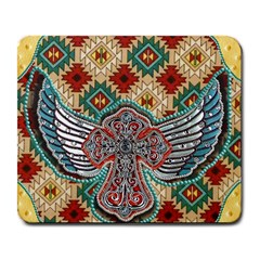 South West Leather Look Large Mouse Pad (rectangle) by artattack4all