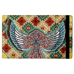 South West Leather Look Apple Ipad 3/4 Flip Case by artattack4all